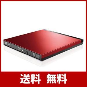 ロジテック Blu-ray ブルーレイ 外付けドライブ USB3.0 UHD BD対応 書込ソフトCyberLink Power2Go 8付 レッド|sound-marks