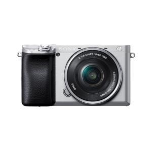 ILCE-6400L デジタル一眼カメラ α6400 パワーズームレンズキット シルバー
