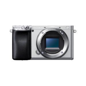 ILCE-6400 デジタル一眼カメラ α6400 本体 シルバー