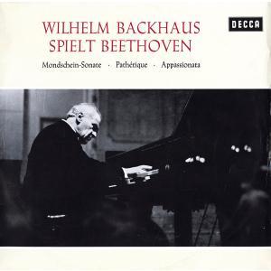 独SXL バックハウス(ピアノ) ベートーヴェン 3つのピアノソナタ