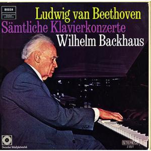 独DECCA バックハウス(ピアノ) イッセルシュテット指揮 ベートーヴェン ピアノ協奏曲 ウイーン...