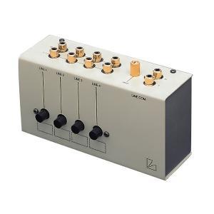 AS-4(III)は最大4台のソースから1台のアンプへ。あるいは逆に1台のソースから4台迄のアンプへ...