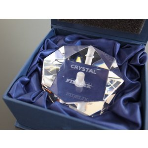 FIDELIX フィデリックス CRYSTAL STABILIZER クリスタルスタビライザー 重量440g|soundheights-analog