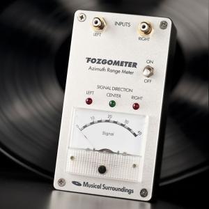 Musical Surroundings ミュージカル・サラウンディング アジマス調整メーター Fozgometer フォズゴメーター|soundheights-analog