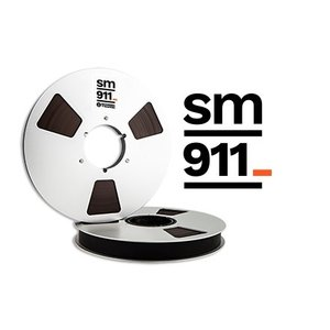 RECORDING THE MASTERS R34120 オープンリールテープ Pro tapes Studio Master SM911 1/4''x2500' 10'' NAB Metal Reel|soundheights-analog