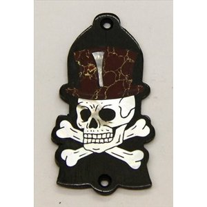 GuitarHeads / Truss Rod Cover with Skull & Top Hat Inlay Gibson 直輸入|soundmama-e