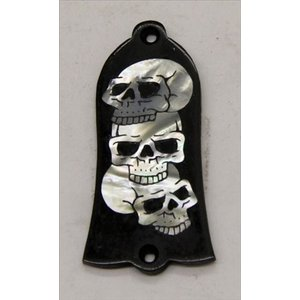 GuitarHeads / Truss Rod Cover with 3 Skull Inlay Gibson 直輸入|soundmama-e