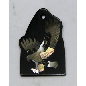 GuitarHeads / Truss Rod Cover with Eagle Inlay Black PRS 直輸入|soundmama-e
