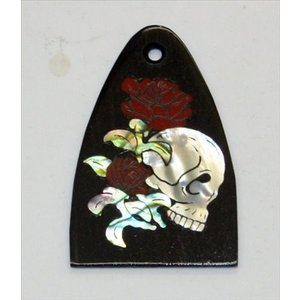 GuitarHeads / Truss Rod Cover with with Skull & RosesPRS 直輸入|soundmama-e