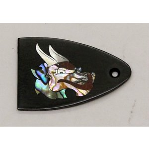 GuitarHeads / Truss Rod Cover with Dragon Head Inlay PRS 直輸入|soundmama-e