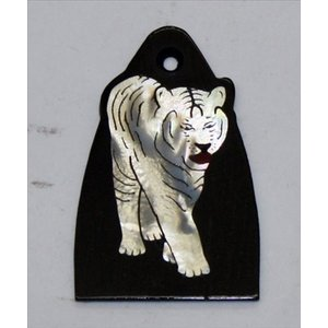 GuitarHeads / Truss Rod Cover Tiger Inlay will fit PRS 直輸入|soundmama-e