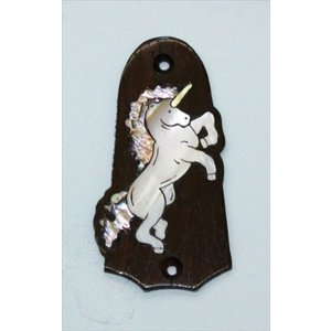 GuitarHeads / Truss Rod Cover with Unicorn Inlay Taylor 直輸入|soundmama-e