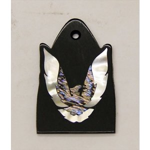 GuitarHeads / Truss Rod Cover with Phoenix Inlay 02 will fit PRS 直輸入|soundmama-e