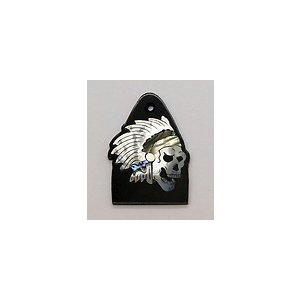 GuitarHeads / Truss Rod Cover w/Skull & Head Dress Inlay will fit PRS  直輸入|soundmama-e