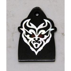 GuitarHeads / Truss Rod Cover with Devil Head Inlay 02 will fit PRS 直輸入|soundmama-e