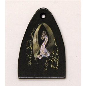 GuitarHeads / Truss Rod Cover with Black Dragon Inlay will fit PRS 直輸入|soundmama-e