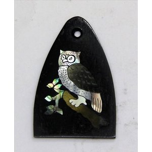 GuitarHeads / Truss Rod Cover with Owl Inlay will fit PRS 直輸入|soundmama-e
