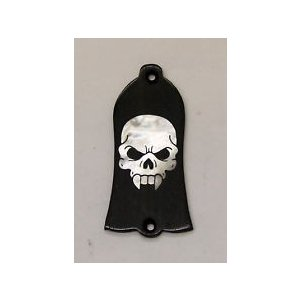 GuitarHeads / Truss Rod Cover with Skull Inlay 01 Gibson  直輸入|soundmama-e