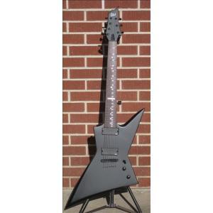 LTD / LTD FLOOR MODEL STANDARD SERIES EX-307 Black Satin 2012 7-String Electric Guitar 直輸入|soundmama-e