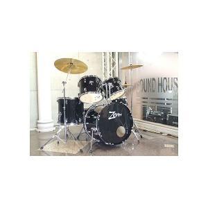ZENN / ZDS3000II BLACK ドラムセット|soundmama-e