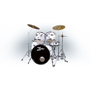 ZENN / ZDS3000II WHITE ドラムセット|soundmama-e