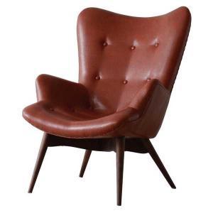 RE-01 WH RE-01 BR コンターチェアー contour chair パークトレーディングス リラックスソファー パーソナルチェアー 1人用 1人掛 PVCレザー リプロダクト品