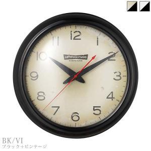 TK-2071 ART WORK STUDIO アートワークスタジオ フランクリンクロック Franklin-clock 壁掛け時計 BK・VI/BK|souryou0interior