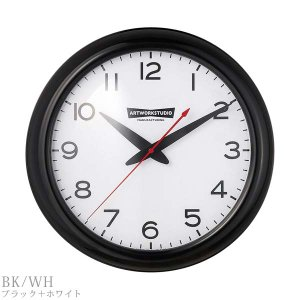 TK-2071 ART WORK STUDIO アートワークスタジオ フランクリンクロック Franklin-clock 壁掛け時計 BK・VI/BK|souryou0interior|02