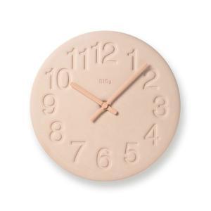 LC11-08 WH/PK/GN/YE 珪藻土の時計 タカタレムノス 掛け時計 takata lemnos 奈良雄一 デザイン Nara Yuichi|souryou0interior