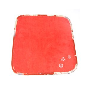 和刺繍タオルハンカチ 緋色|sousakuzakka-koto