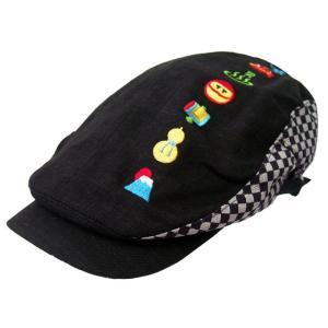 和柄 ハンチング メンズ 和柄 帽子 メンズ 日本豆景色 ハンチング sousakuzakka-koto