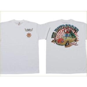 和柄tシャツ 半袖 Tシャツ むかしむかし メンズ 阿吽ロッダー|sousakuzakka-koto