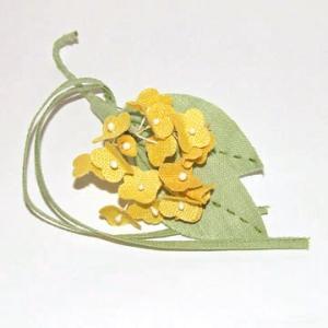 和風コサージュ 金木犀|sousakuzakka-koto