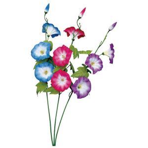 造花 あさがお 店舗装飾 ディスプレイ スプレイ朝顔