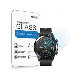 (3枚入り) Frgnie for Huawei Watch GT2 46mm 腕時計 スクリーン保護フィルム, 9H 強化 ガラス 保護フィルム 対 south-wave-japan