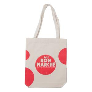 Bon Marche エコバッグボンマルシェトートバッグ  ショッピングバッグ コットン ボンマルシェ 2050039115785<br>メール便でお届け!|southcoast