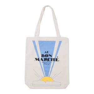 Bon Marche エコバッグボンマルシェトートバッグ  ショッピングバッグ コットン ボンマルシェ 2050039115822<br>メール便でお届け!|southcoast