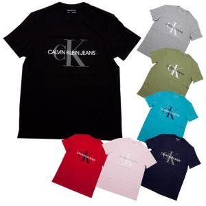 カルバン・クライン Calvin Klein フロント ロゴ 半袖 メンズ Tシャツ 41vm883...