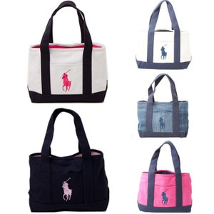 ラルフローレン RALPH LAUREN TOTE MEDIUM ハンド トート 950259/NATURAL/NAVY 950260/DENIM/NAVY 950261/FUCHSIA/NAVY 950194/WHITE/NAVYFCH|southcoast