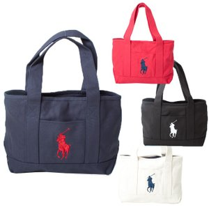 ラルフローレン POLO RALPH LAUREN  SCHOOL TOTE MEDIUM トート ハンド バッグ 959008/RED/NAVY 959010/NATURAL/NAVY 959011/BLACK/WHITE 959009/NAVY/RED|southcoast