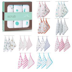 aden+anais ウォッシュクロスセット モリスンコットン Washcloth set 出産祝い 男の子 女の子 aden anais エイデンアンドアネイ southcoast