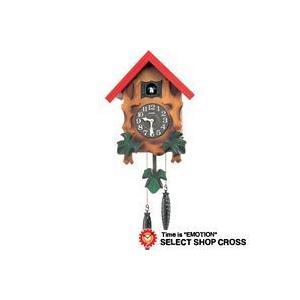 お取寄せ シチズン CITIZEN クオーツカッコー Quartz cuckoo クォーツ 鳩時計/掛時計 4mj775-a06 ブラウン