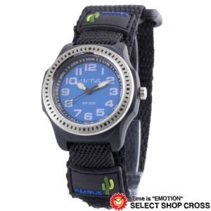 カクタス CACTUS キッズ 子供 腕時計 10気圧防水 ベルクロ ボーイズ CAC-45-M03...
