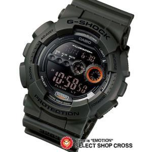 カシオ Gショック gショック ジーショック GD-100MS-3DR ミリタリーテイスト 高輝度LED CASIO G-SHOCK g-shock グリーン