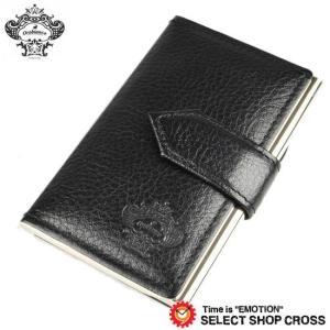 お取り寄せ オロビアンコ Orobianco 名刺入れ カードケース ブラック OBCS-004-BK 正規品 southern-cross9