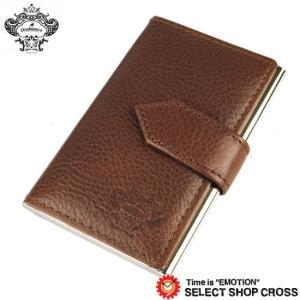 オロビアンコ Orobianco 名刺入れ カードケース ブラウン OBCS-004-BR 正規品 southern-cross9