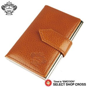 オロビアンコ Orobianco 名刺入れ カードケース キャメル OBCS-004-CA 正規品 southern-cross9