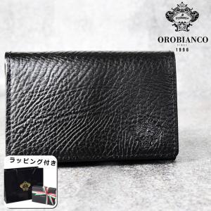 国内代理店正規商品 ブランドラッピング無料 オロビアンコ Orobianco オールブラックシリーズ メンズ 名刺入れ カードケース 日本製 レザー ブランド ORS-090900|southern-cross9