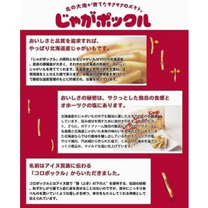 じゃがポックル カルビー 10袋入 お菓子 ポテトチップス お土産 北海道 ギフト プレゼント 人気 お取り寄せ|souvenir-chidoriya|02