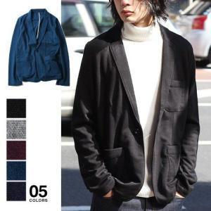 TR ポンチ 長袖 テーラード ジャケット メンズ トレンド|soyous